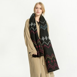 Ericdress Winter Warm Thick Scarf