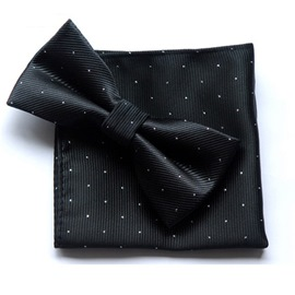 Ericdress Dot Bow Tie Set