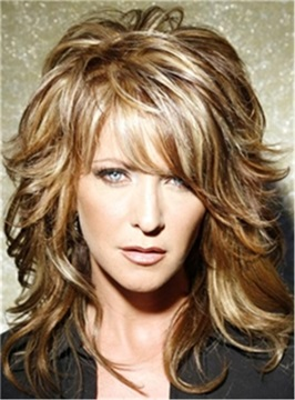 Ericdress Long Layered Wavy Synthetic Hair Capless Wigs