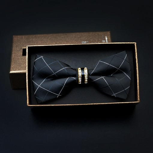 Ericdress Diamante Men's Bow Tie