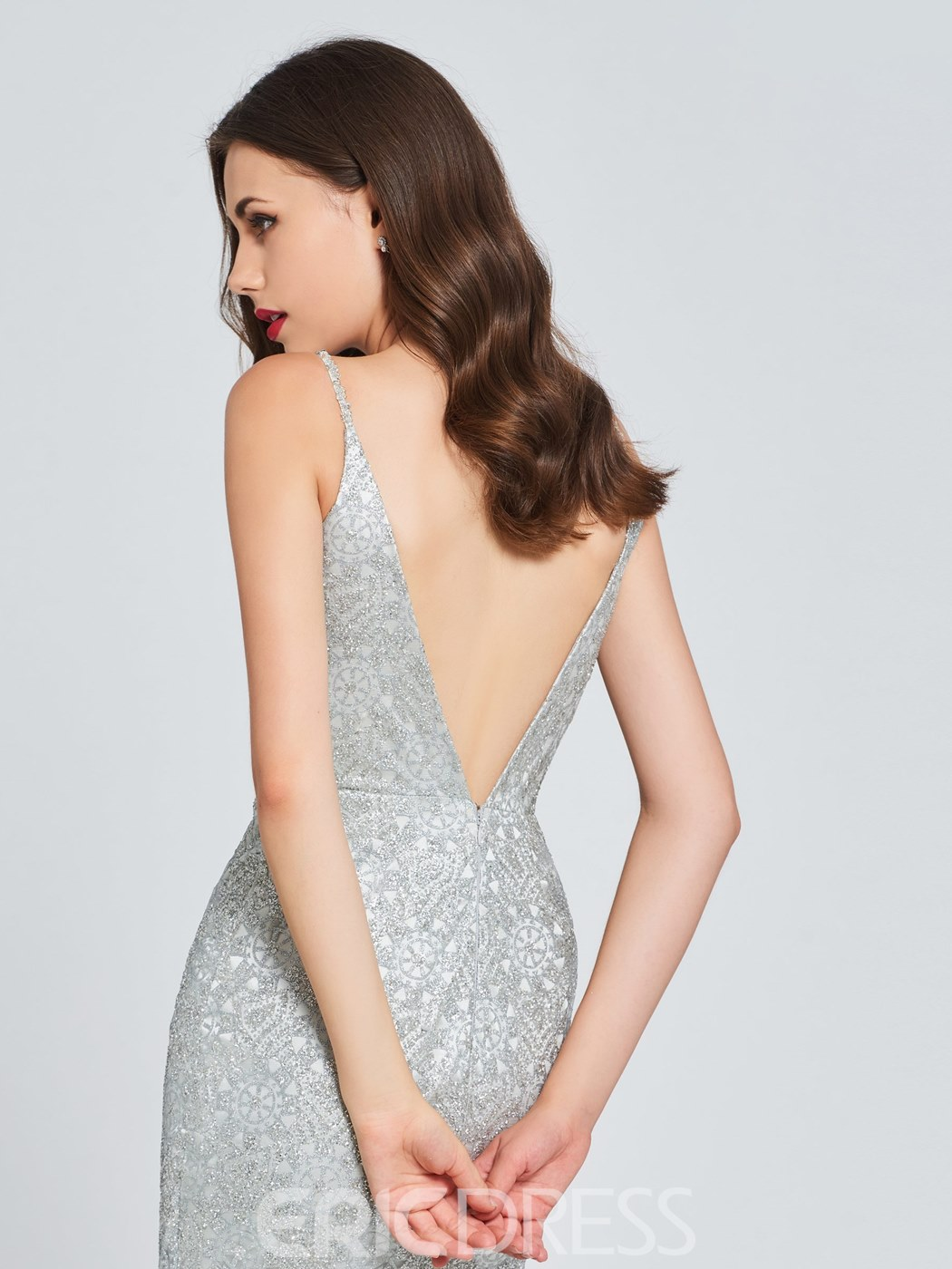 Ericdress Sheath Sequin Bodycon Homecoming Dress