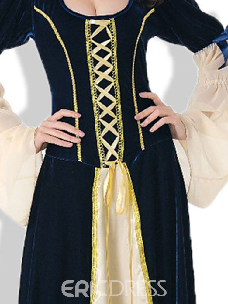 Ericdress Easter Bowknot Lace-Up Vintage Princess Halloween Costume