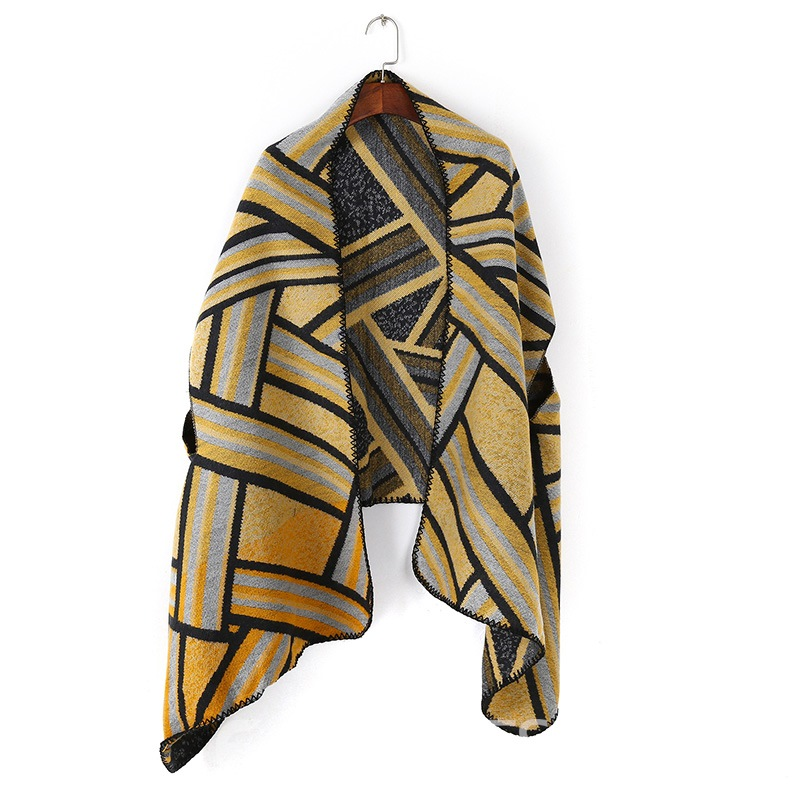 Ericdress Color Block Shawl Scarf