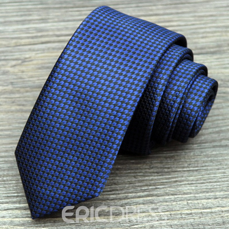 Ericdress Shepherd check Men's Ties