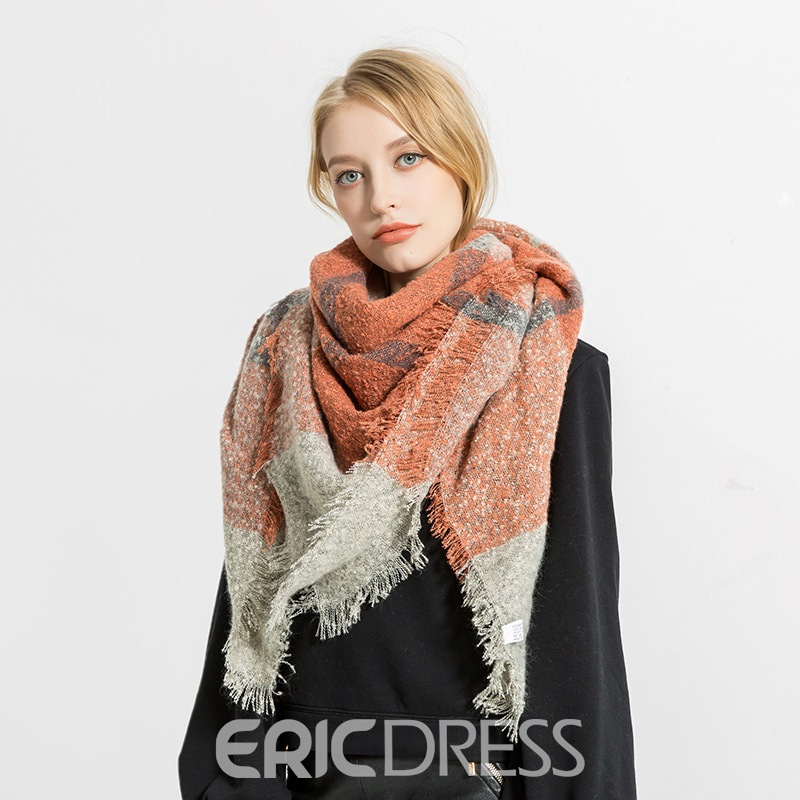Ericdress Winter Imitation Cashmere Scarf