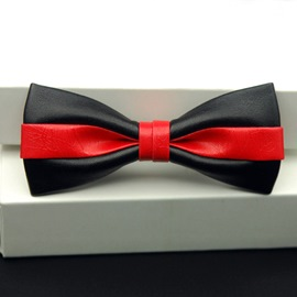 Ericdress Double Color Bow Tie