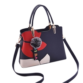 bolso ericdress casual patchwork mediano