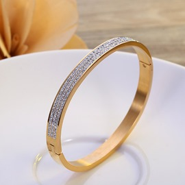 Ericdress Diamante Chic Simple Fashion Bracelet