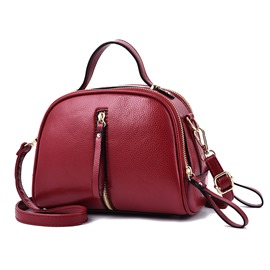 Ericdress Casual PU Zipper Women Small Handbag