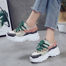 Ericdress Patchwork Platform Women's Sneakers