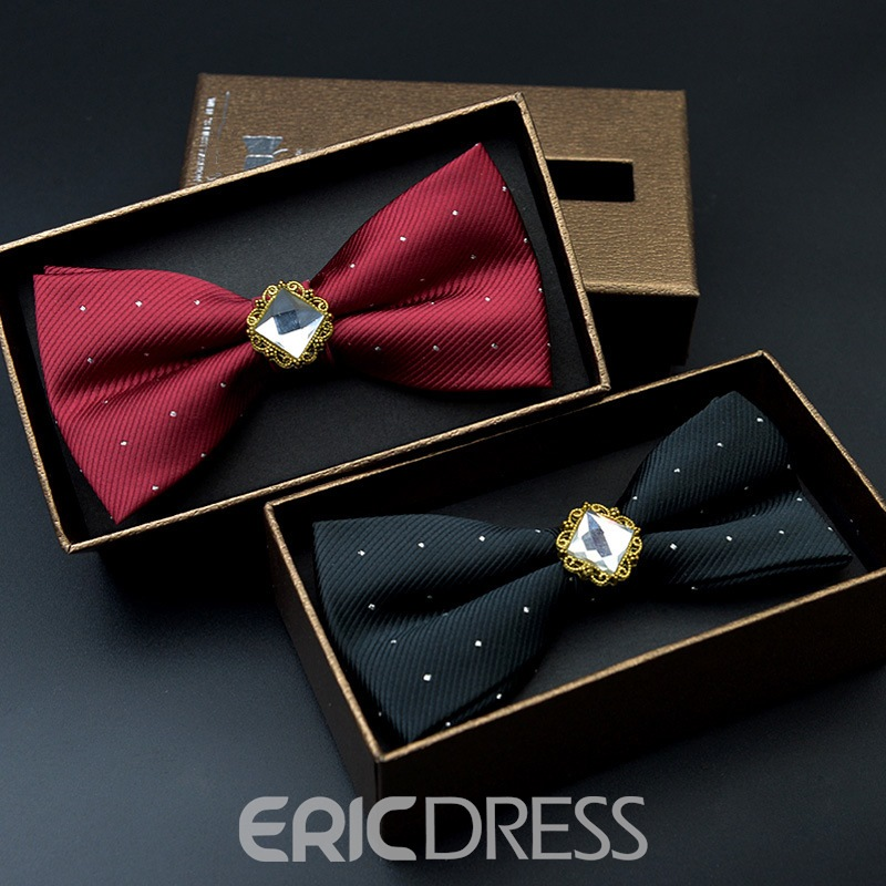 Ericdress Gems Dots Bow Tie