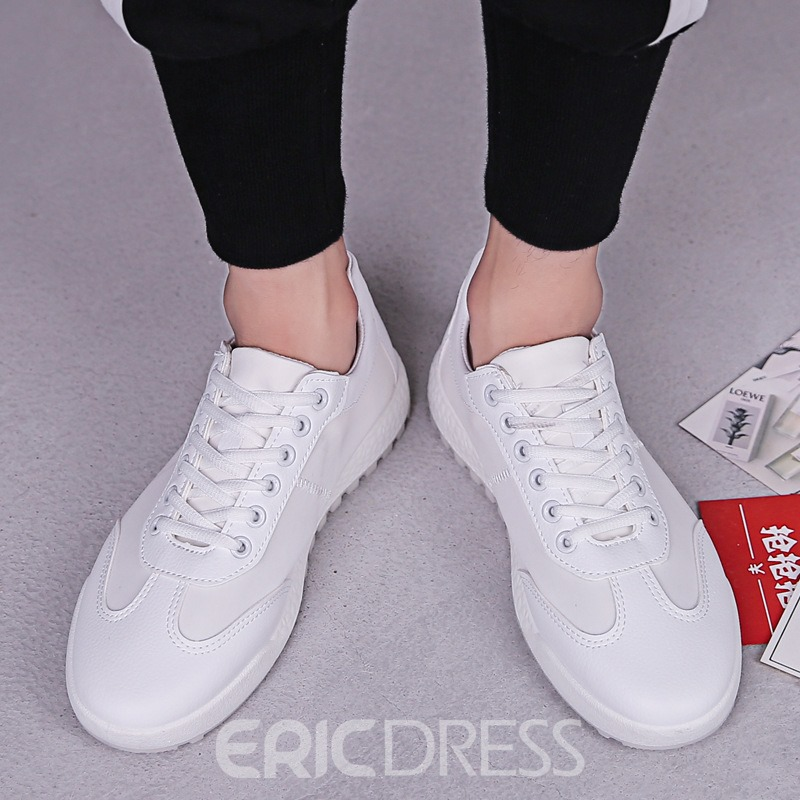 Ericdress PU Lace-Up Men's Sneakers