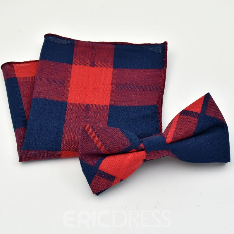 Ericdress Color Block Men's Bow Tie