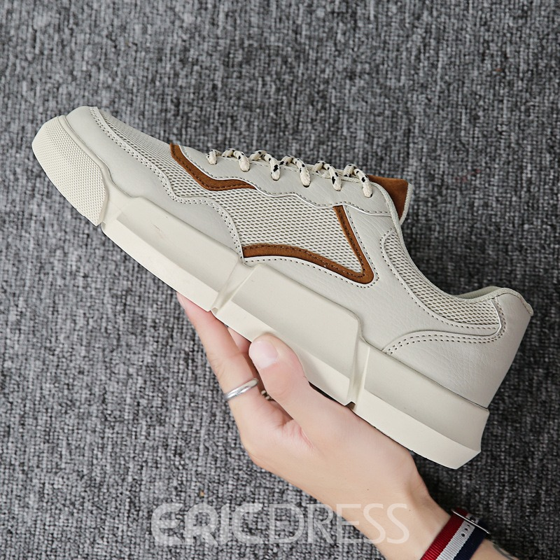 Ericdress Low-Cut Upper Lace-Up Men's Sneakers