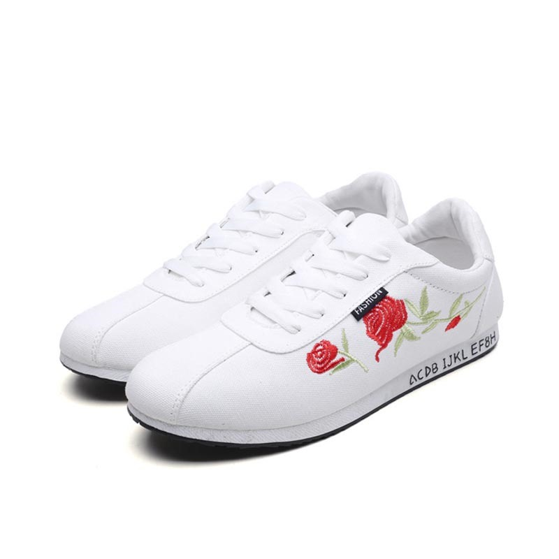 Ericdress Embroidery Lace-Up Men's Sneakers