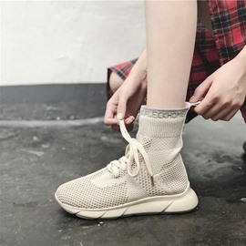 Ericdress Mesh High-Cut Upper Women's Sneakers