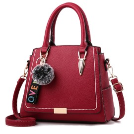 Ericdress Plain Rectangle Embossing Handbag