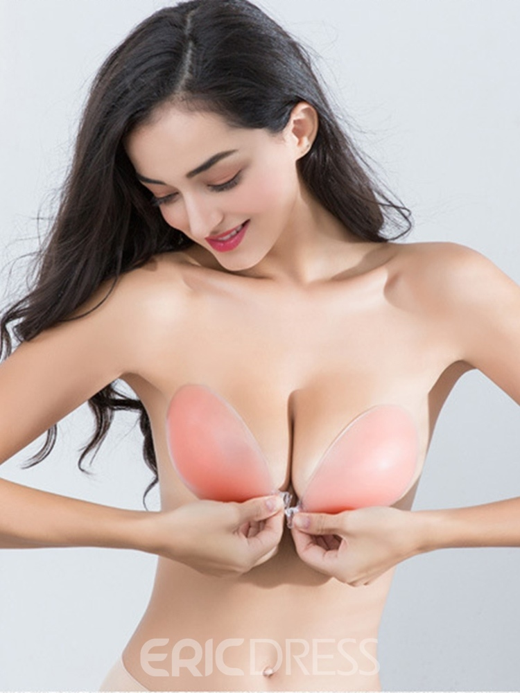 Ericdress Silicone Double Thickening Nude Nipple Covers