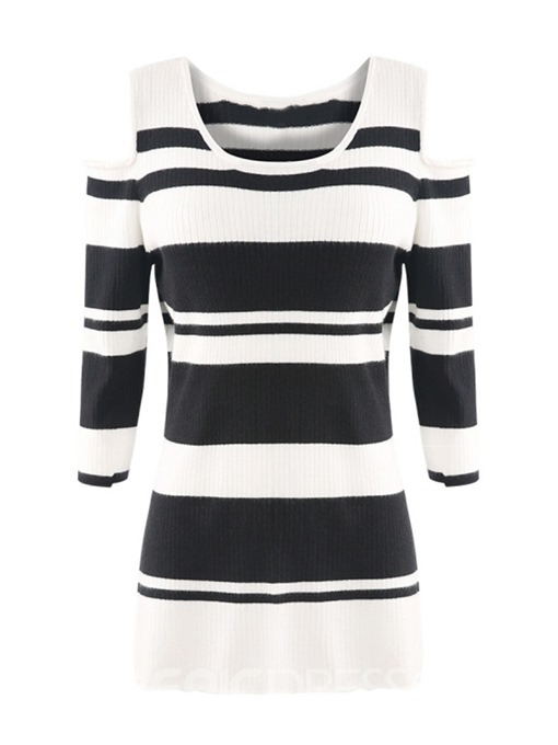 Ericdress Hollow Regular Fall Plus Size Knitwear