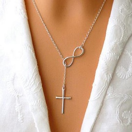 Ericdress Women Cross Necklace