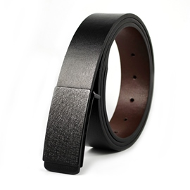 Ericdress Smooth buckle Leather Belt