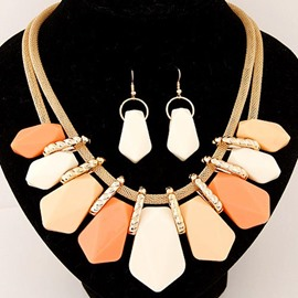 Ericdress Colorful Alloy Jewelry Set