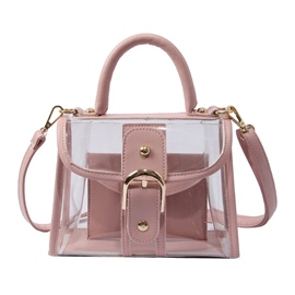 Ericdress Summer Belt Decorated PVC Tote Bag