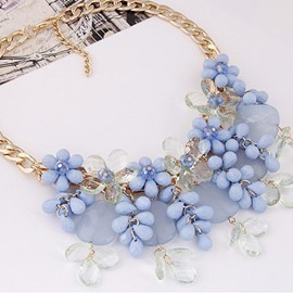 Ericdress Jelly Color Drop Necklace