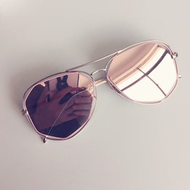 Ericdress Reflect Lens Summer Sunglasses