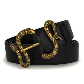 Ericdress Snake Leather Belt
