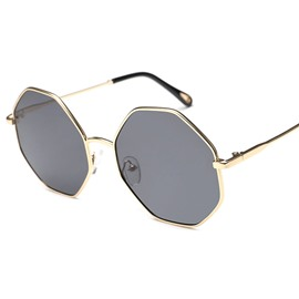 Ericdress Octagon Lens Sunglasses