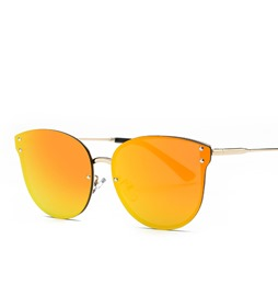 Ericdress Orange-Tinted Lenses Retro sunglasses