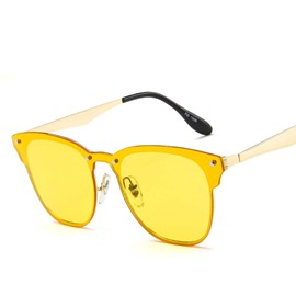 Ericdress Vintage Tinted Lenses Sunglasses