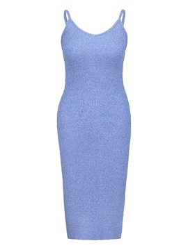 Strappy Backless Women's Sheath Dress