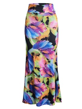 Ericdress Bodycon Print Women's Skirt