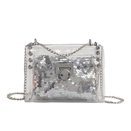 Ericdress Summer Holiday Shining Sequins PVC Bag