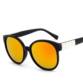Ericdress Black Framed Vintage Sunglasses