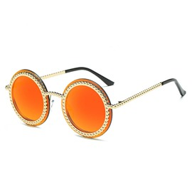 Ericdress Metal Round Lens Sunglasses