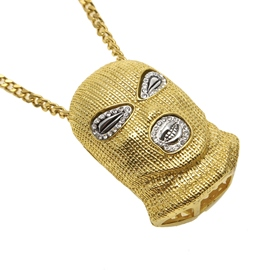 Ericdress Hip Hop Diamante Necklace
