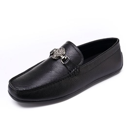 Ericdress Plain Slip-On Square Toe Low-Cut Men's Shoes