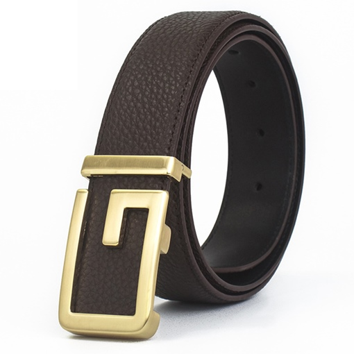 Ericdress Smooth Buckle Men Belt