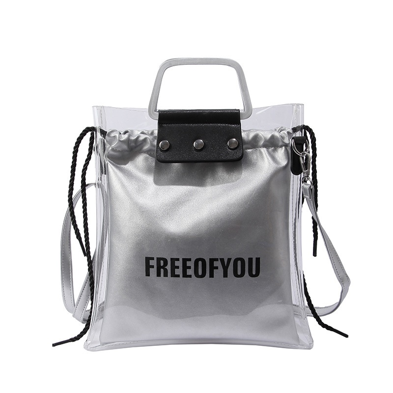 Ericdress Summer Korean Style PVC Jelly Tote Bag 13297800