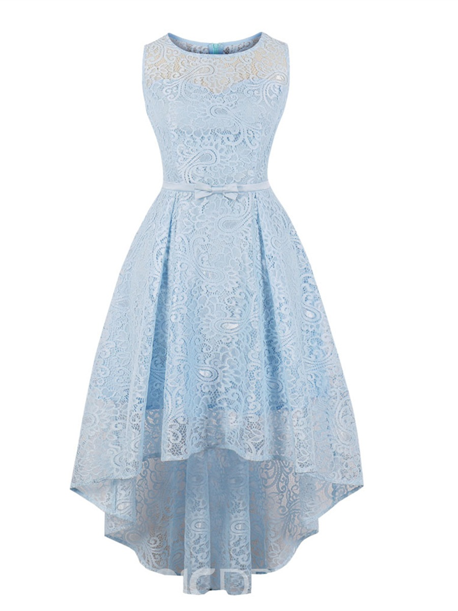Ericdress Presale Scoop Neck A Line Lace Homecoming Dress