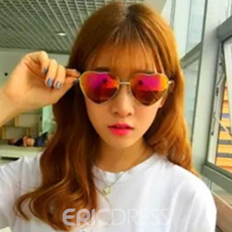 Ericdress Heart Sunglasses