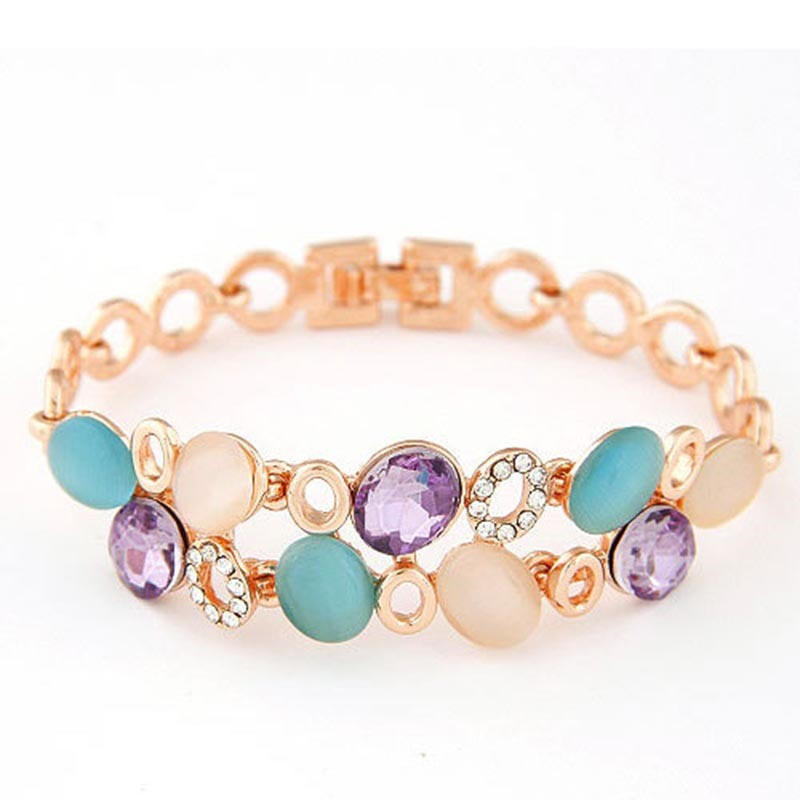 Ericdress Cat Eye Satr&Sea Fashion Bracelet