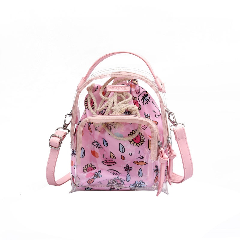 Ericdress Dazzling PVC Beach Travel Backpack