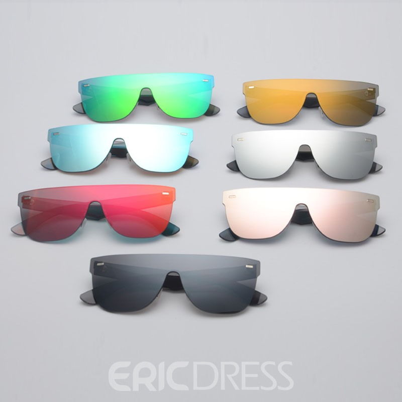 Ericdress Lover Plano Lens Sunglasses