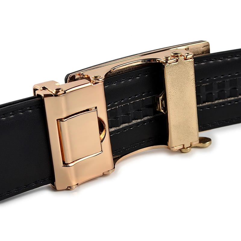 Ericdress Alloy Automatic buckle Leather Belt