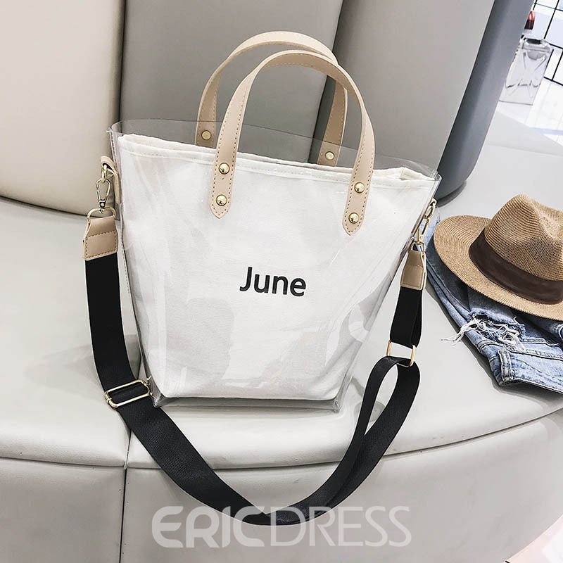 Ericdress Summer June Holiday PVC Women Tote Bag