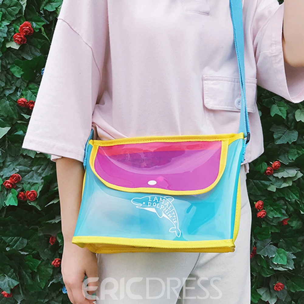 Ericdress Modern Style Casual Jelly Beach Bag